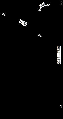 słupek rozporowy z drążkiem akrobatycznym