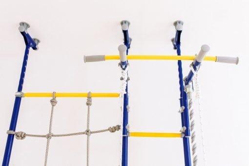 drabinka gimnastyczna Merkury z siatką linową