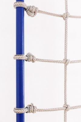 drabinka gimnastyczna z siatką linową