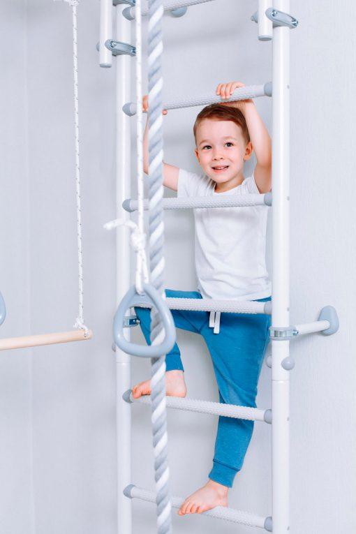 drabinka gimnastyczna Next 1 szara dziecięca