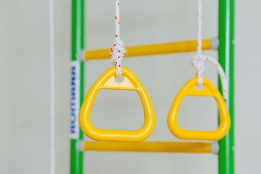 kółka gimnastyczne żółte