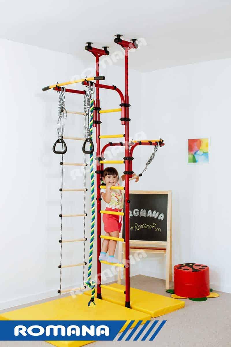 Bardzo dobry Drabinka gimnastyczna dla dwójki dzieci Transformer | MAŁPISZON PR18