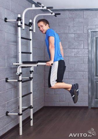 Poręcze podnoszone do drabinki gimnastycznej