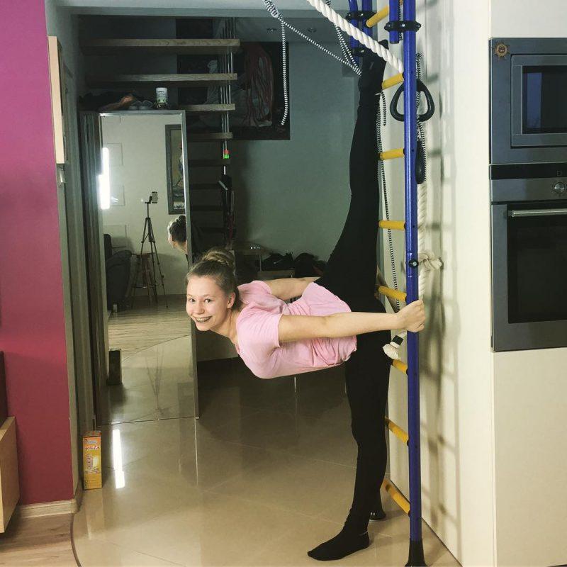 drabinka gimnastyczna dla dziecka