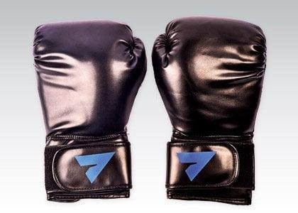 rękawice bokserskie czarne
