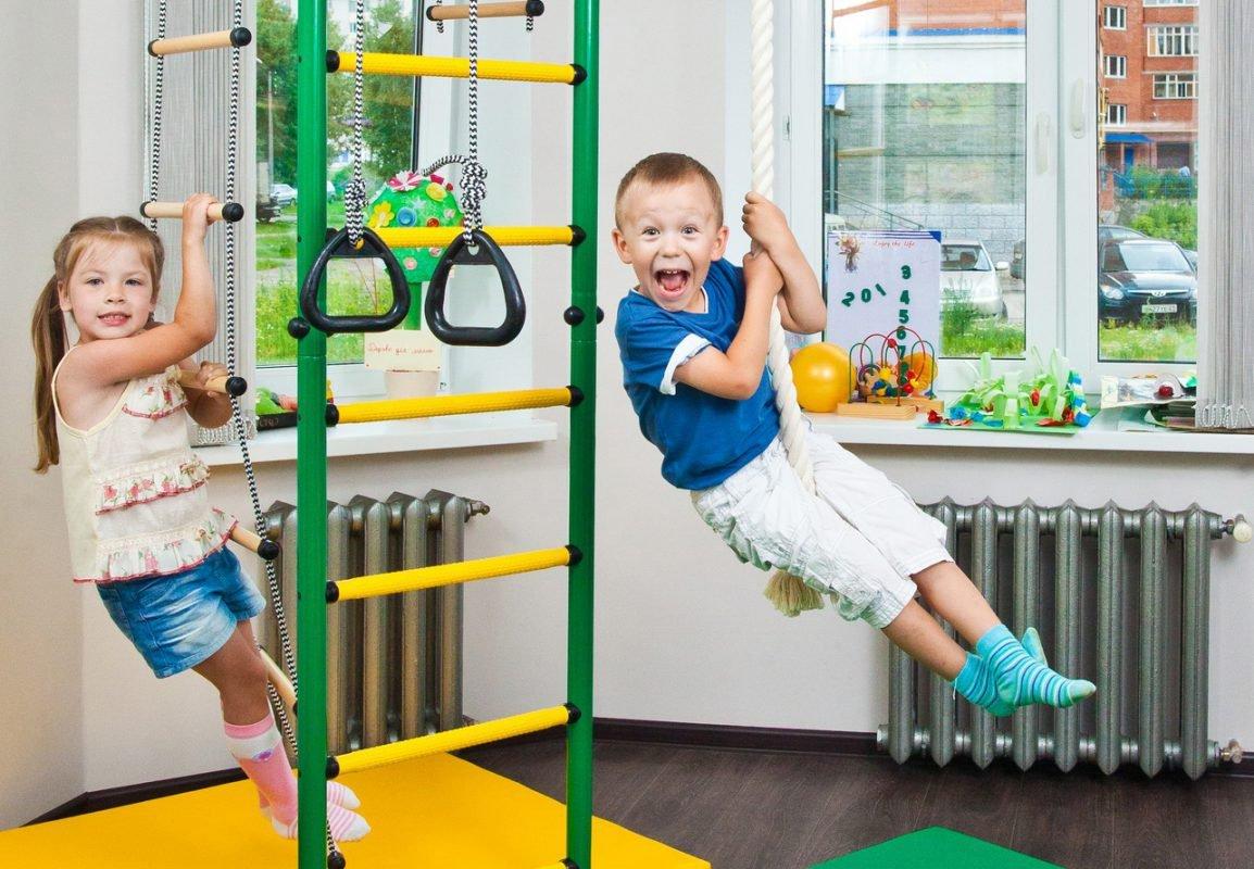 drabinka gimnastyczna dla dzieci