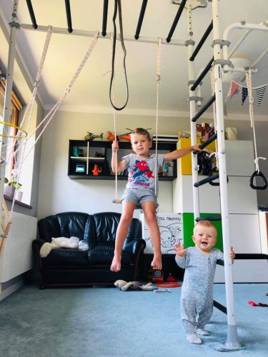 drabinka gimnastyczna Pegas 2 photo review