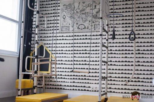 drabinka gimnastyczna Pegas 2 domowy plac zabaw