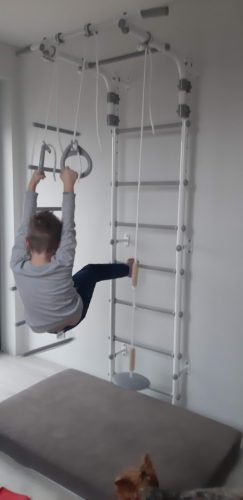 drabinka gimnastyczna Gamma Pastel 2 photo review