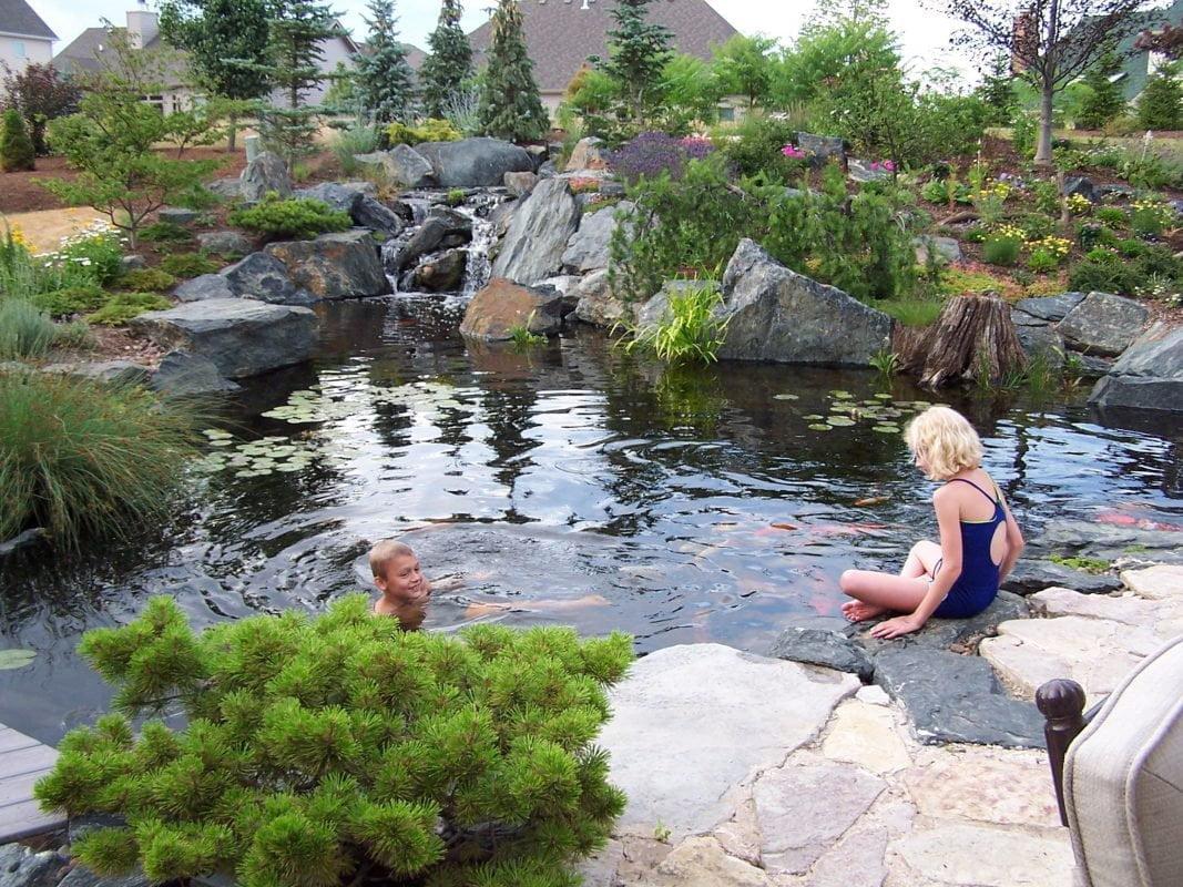oczko wodne do ogrodu
