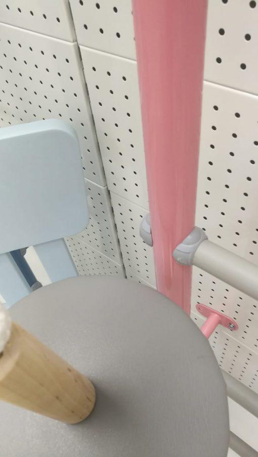 drabinka gimnastyczna Pastel kolor różowy