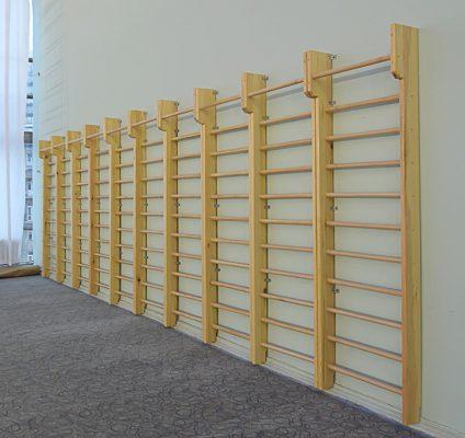 drabinki gimnastyczne drewniane