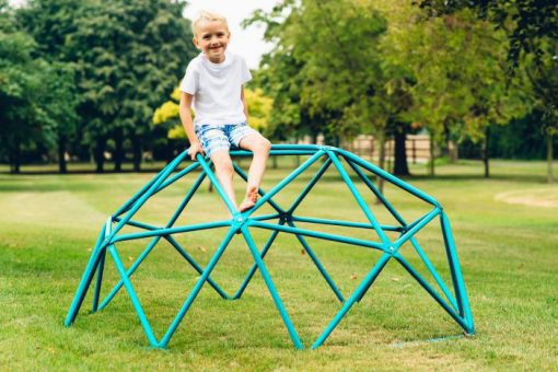 kopuła wspinaczkowa średnia do ogrodu dla dzieci