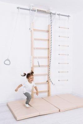 drewniana drabinka gimnastyczna Eco
