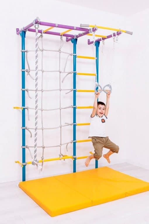 drabinka gimnastyczna kolorowa Kometa Next 5 dla dzieci
