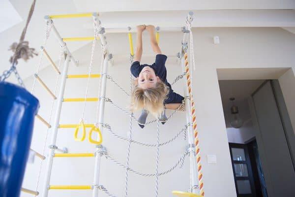 drabinka gimnastyczna Kometa Next 5 mocowana do ściany