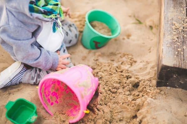 piaskownica dla dziecka