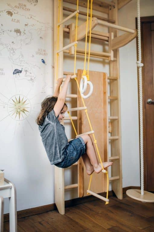 drabinka gimnastyczna drewniana Wood Mood