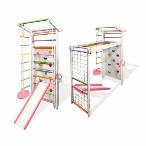 drabinka gimnastyczna drewniana Czempion 3 dla dzieci