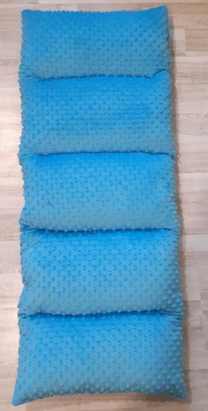 kocyk na bujak niebieski bujak drewniany