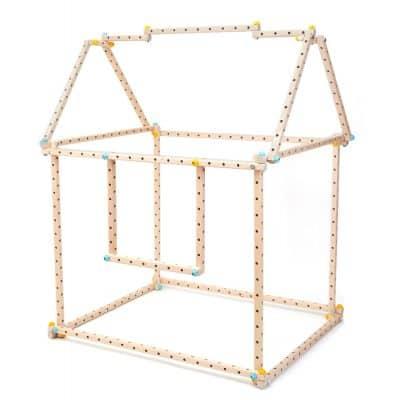 klocki_konstrukcyjne_drewniane_Eureka_medium_domek
