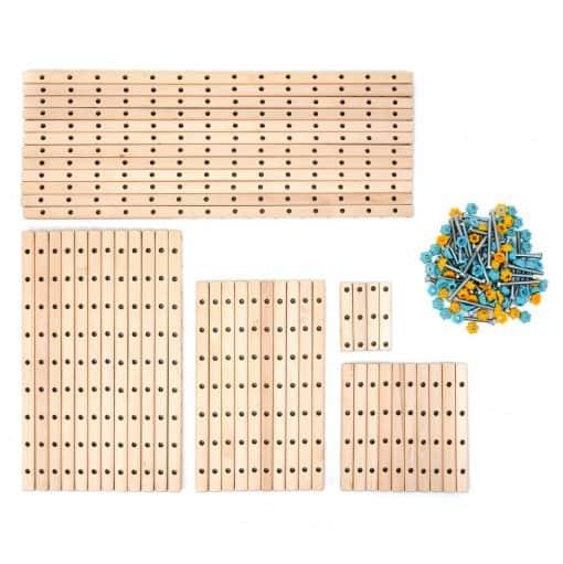 klocki_konstrukcyjne_drewniane_Eureka_medium_elementy