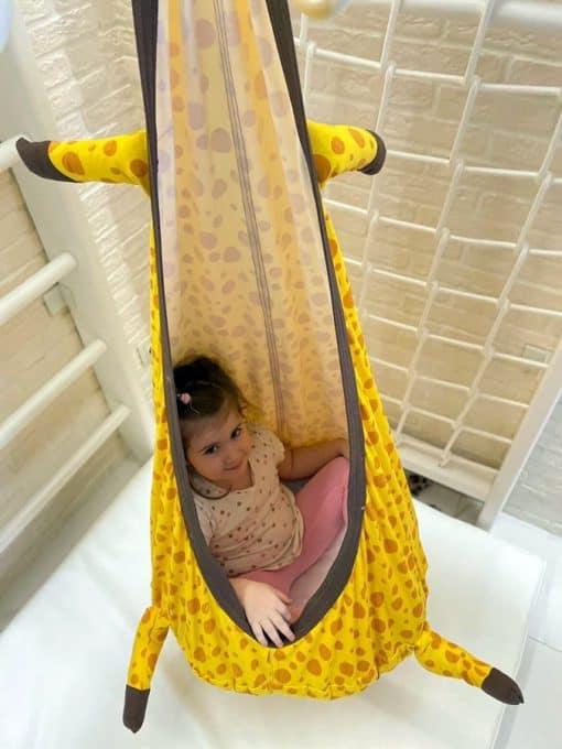 kokon hustawka dla dzieci
