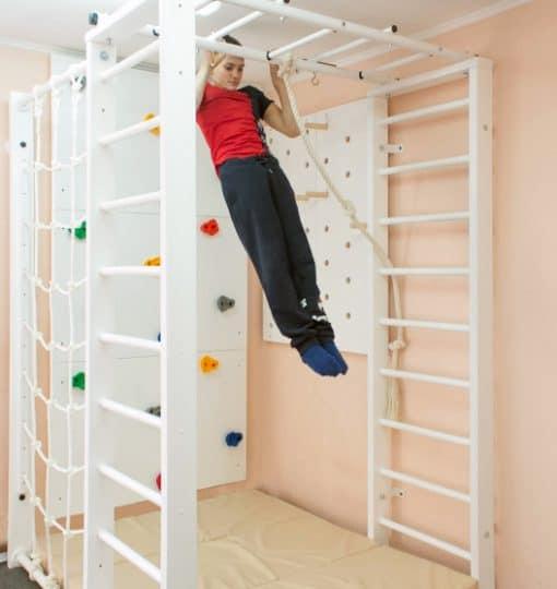 drabinka gimnastyczna drewniana do pokoju Marcel