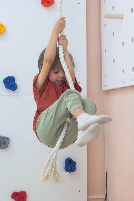 drabinki gimnastyczne drewniane wspinaczka