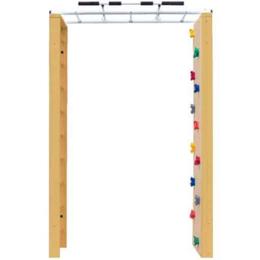 drabinka gimnastyczna drewniana dla dziecka